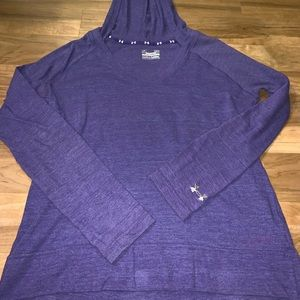 Under Armour hooded  lightweight long sleeve